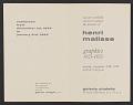 View Galerie Chalette records digital asset: Henri Matisse