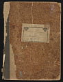 View Agnes Pelton papers digital asset: Notebook/Sketchbook IV