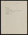 View Nan Rosenthal papers digital asset: Manuscripts and Drafts