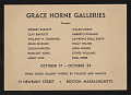 View Polly Thayer (Starr) papers digital asset: History of Grace Horne Gallery