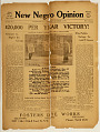 View New Negro Opinion newspaper digital asset: First Year No.1