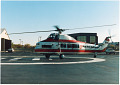 View Caroline Lachmann-Spivak Photographs digital asset: Air Transport, Airlines, New York Helicopter (USA); Sikorsky S-58T; Lachmann-Spivak, Caroline; Women in Aviation, United States