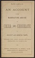 View Warshaw Collection of Business Americana Subject Categories: Cocoa and Chocolate digital asset: Warshaw Subject Category: Cocoa and Chocolate