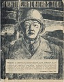 View Front Cover of Japanese Newsletter. [print] digital asset: Newsletter, Fighting Americans Too, concerning Nisei troops; Message from Director of WRA