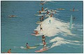 View Beatrice Litzinger Postcard Collection digital asset: Hawaii - Waikiki Beach