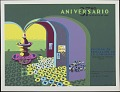 View 37 Aniversario DIVEDCO [screen print poster] digital asset: Thirty Seventh Aniversario de Divideco
