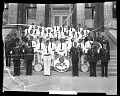 View [American Legion band] [cellulose acetate photonegative] digital asset: untitled