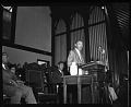 View Reverend Martin Luther King, Jr. at Howard University [photonegative] digital asset: untitled