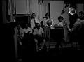 View [Group watching portrait photography session black-and-white acetate photonegative.] digital asset: untitled