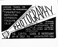 View Capitol School of Photography advertisement [cellulose acetate photonegative] digital asset: untitled