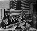 View American Legion Banquet at Whitelaw Hotel, ca. 1930-1939 [cellulose acetate photonegative] digital asset: untitled