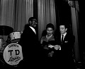 View Pearl Bailey and her husband [Louis Bellson] at Howard Theatre, January 19,1956 [cellulose acetate photonegative] digital asset: untitled
