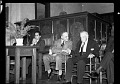 View Prof. Sterling Brown, Dr. James Nabrit, Poet [Robert] Frost [cellulose acetate photonegative] digital asset: untitled