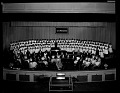 View Cardozo High School Orchestra and Chorus May 17, 1954 [cellulose acetate photonegative] digital asset: untitled