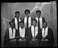View Young Gospel Singers, March 13, 1949 [cellulose acetate photonegative] digital asset: untitled