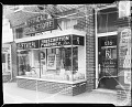 View Ethical Pharmacy [Parke, Davis, window, Oct[tober] 1950 [cellulose acetate photonegative] digital asset: untitled