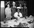 View Howard U[niversity] Women's Week-end Banquet, May 8, 1960 [cellulose acetate photonegative] digital asset: untitled