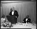 View Alpha Omega Alpha Banquet and Inductees, H.U. Med School, April 1963 [cellulose acetate photonegative] digital asset: untitled