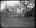View Mrs. Julia Cardozo's residence, April 1963 [cellulose acetate photonegative] digital asset: untitled