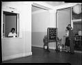 View H.U. [Howard University] Student Union bldg [building] shots, Feb[ruary] 1964 [cellulose acetate photonegative] digital asset: untitled