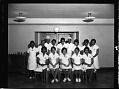 View Cafeteria and Restaurant Workers Union members in Pentagon, March 1964 [cellulose acetate photonegative] digital asset: untitled