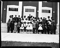 View Mr. Geo[rge] Murphy Recital group at Fort Dupont Church, May 1964 [cellulose acetate photonegative] digital asset: untitled