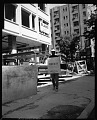 View Labor Union pickett [sic?] at Construction 19th and [J?], May 1964 [cellulose acetate photonegative] digital asset: untitled