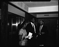 View Sidney Poitier at Industrial Bank [of Washington], May 1964 [cellulose acetate photonegative] digital asset: untitled