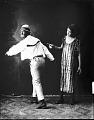 View Robert Taylor and partner [male figure turning back : acetate film photonegative] digital asset: untitled