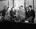 View [Judge Armond Scott taking the oath of office : acetate film photonegative] digital asset: untitled