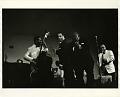 View William Claxton Photographs digital asset: Duke Ellington and Jimmy Rushing; on stage, Las Vegas, Nevada, 1955.