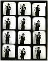 """View Harpo Marx Papers digital asset: Contents of album entitled """"Harpo with Famous People"""" and """"Harpo Solo Shots"""""""