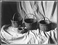 View Frank Gouldsmith Speck photograph collection digital asset: Nanticoke woven baskets