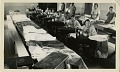 View St. Bernard Mission School photographs digital asset: Students sewing