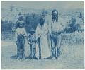 View Lillian A. DeLong collection of cyanotypes digital asset: Group portrait