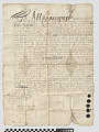 View Land deed to Stephanus van Cortlandt, 1683 (Anthony's Nose, NY region) digital asset: Land deed to Stephanus van Cortlandt, 1683 (Anthony's Nose, NY region)