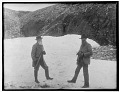 View Edward S. Curtis papers and photographs digital asset: John Muir and John Burroughs on Saint Matthew Island, Alaska during Harriman Alaska Expedition