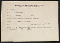 View MS 2707 Arapaho ethnological and linguistic notes collected by Truman Michelson digital asset: Arapaho ethnological and linguistic notes collected by Truman Michelson