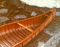 View Thomas F. Purner photographs of Algonquian birch bark canoe digital asset: Thomas F. Purner photographs of Algonquian birch bark canoe