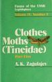 View True moths = Tineidae / A. K. Zagulajev ; translated from Russian digital asset number 1