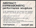 View Abstract Expressionistic performance sculpture digital asset number 1