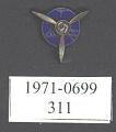 View Pin, Lapel, Pilot's 5 Year Service, Transcontinental & Western Air Inc. (TWA) digital asset number 1