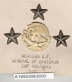 View Insignia, Rank, General of Division, Mexican Air Force digital asset number 1