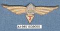 View Badge, Navigator 2nd Class, Romanian Air Force digital asset number 1