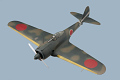 "View Model, Recognition, Nakajima Ki-43 ""Oscar"" digital asset number 0"