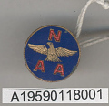 View Pin, Lapel, National Aeronautic Association, Glenn L. Martin digital asset number 1