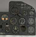 View Instrument Panel, P-47D-15 / XP-47H digital asset number 10