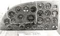 View Instrument Panel, Fairchild XBQ-3 Assault Drone (AT-21 Gunner modification) digital asset number 5