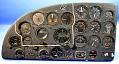 View Instrument Panel, Fairchild XBQ-3 Assault Drone (AT-21 Gunner modification) digital asset number 1