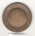 View Medal, National Geographic Society Hubbard Medal, Captain Orvil Anderson digital asset number 1